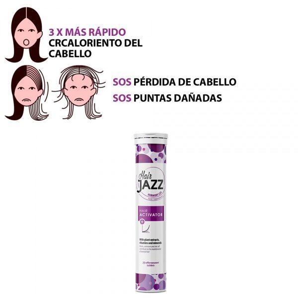 ¡Nuevo HAIR JAZZ Activator para el cabello!- Programa de 20 días