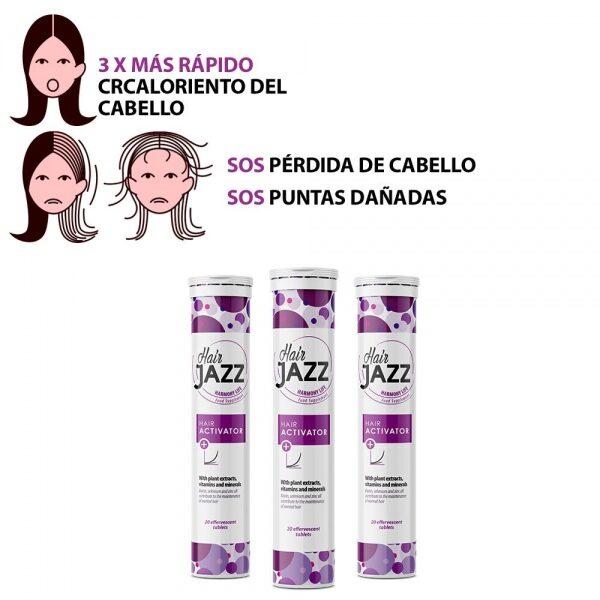¡Nuevo HAIR JAZZ Activator para el cabello!- Programa de 2 meses