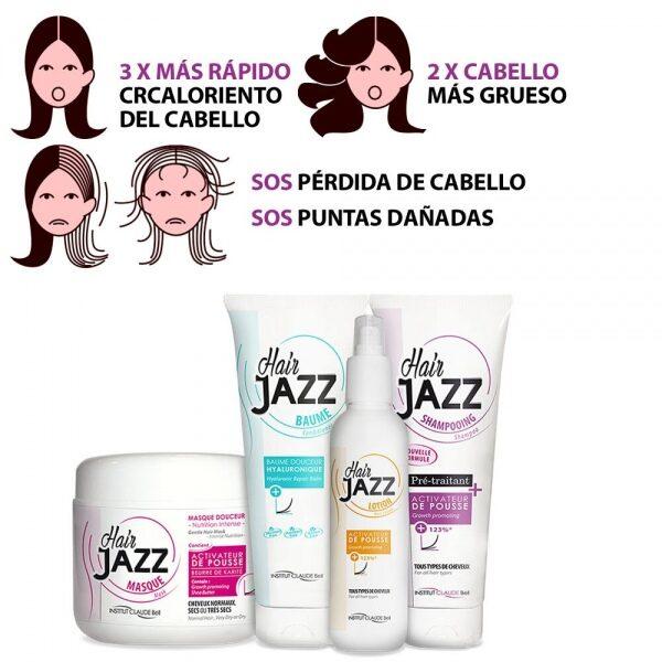 HAIR JAZZ Set- Completo Rutina De Lavado