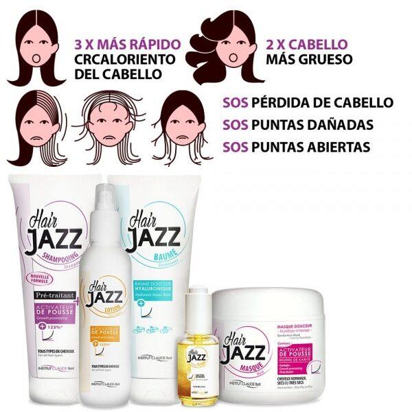 HAIR JAZZ Set- Completo Rutina De Lavado + Serum