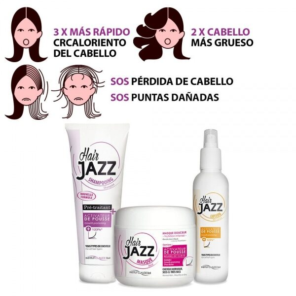HAIR JAZZ Set- Cuidado Básico