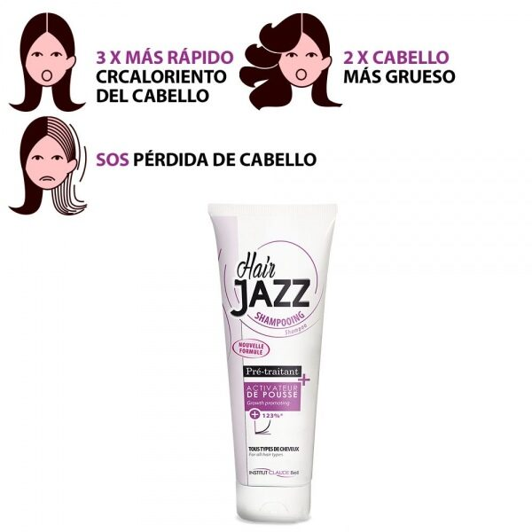 HAIR JAZZ Champú - ¡Acelera El Crecimiento De Tu Pelo!