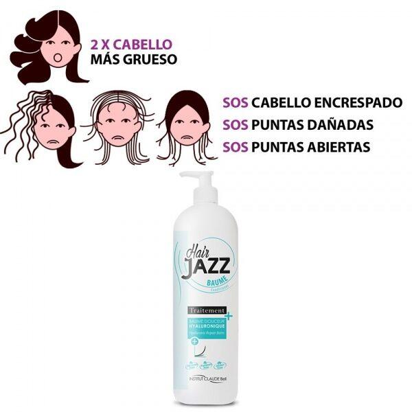 HAIR JAZZ Pro Acondicionador Hialurónico - ¡Acelera El Crecimiento De Tu Pelo!