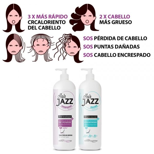 HAIR JAZZ Set- Cuidado Para 6 Meses