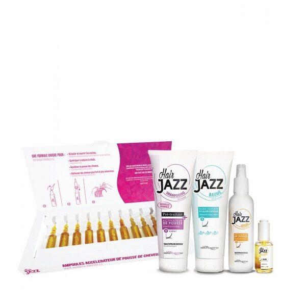 Hair Jazz Super Set- Crecimiento Con Ampollas