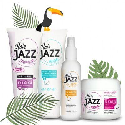 ¡Oferta de verano! HAIR JAZZ champú, loción, máscara y acondicionador hialurónico - ¡Acelera, hidrata y da brillo a tu cabello!
