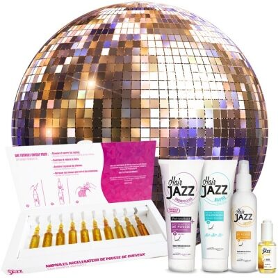 Hair Jazz Super Set- Crecimiento con Ampollas
